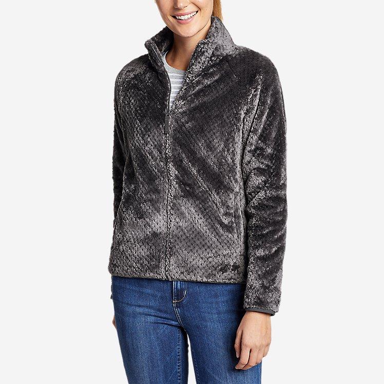 Women's Alpine Plush Full-Zip Jacket large version