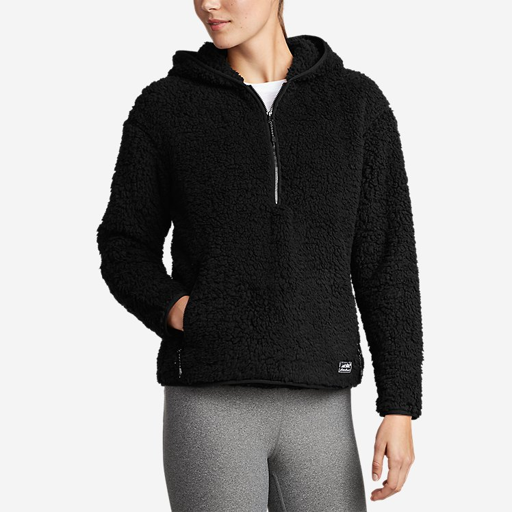 Women's Fireside Plush 1/4-Zip Pullover Hoodie large version