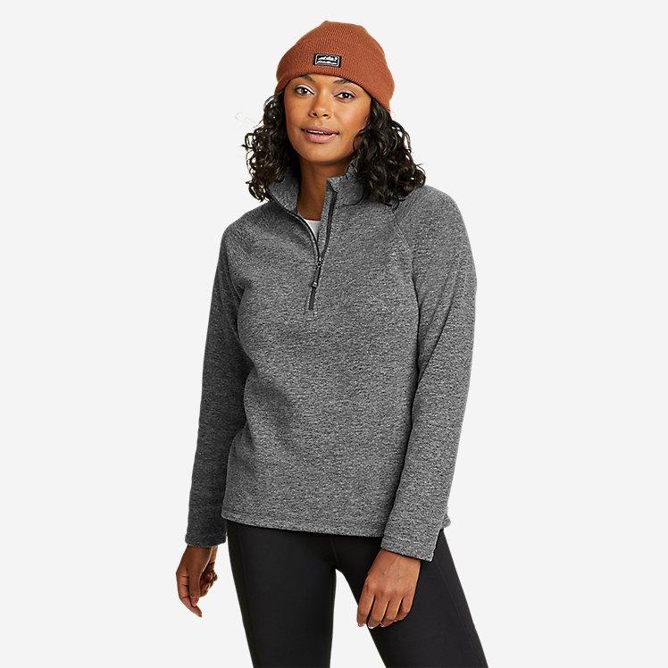 Women's Quest Fleece 1/4-Zip - Solid large version
