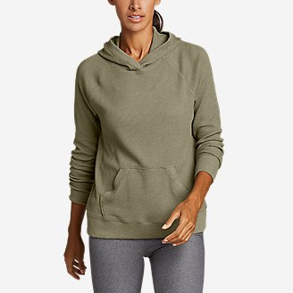 Thumbnail View 1 - Women's Myriad Thermal Relaxed Pullover Hoodie