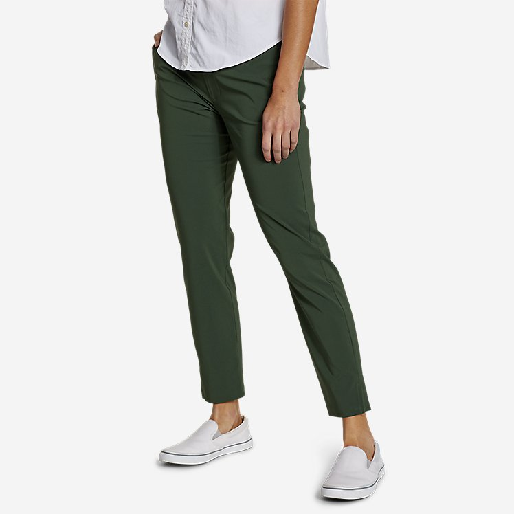 Women's Incline High-Rise Slim Ankle Pants large version