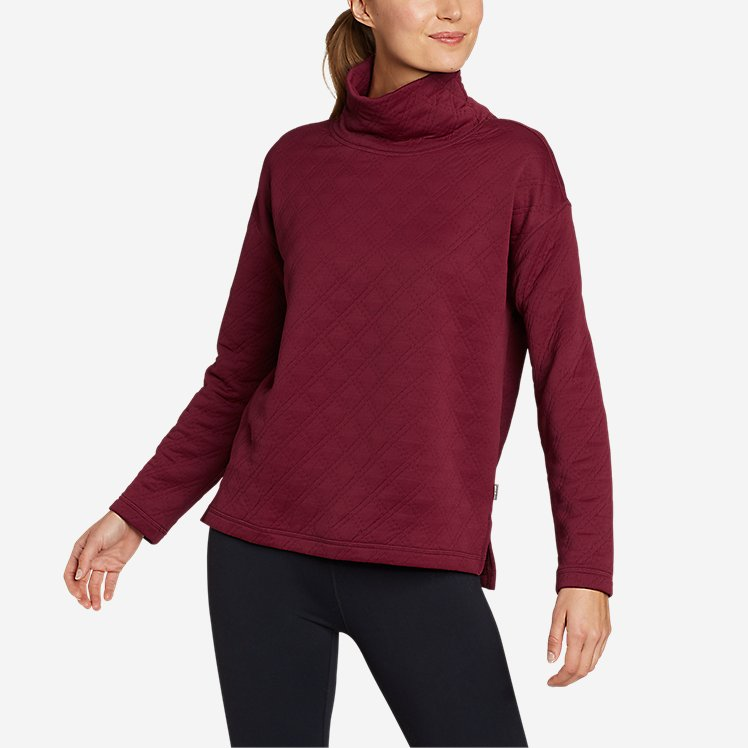 Women's Discovery Funnel-Neck Pullover large version