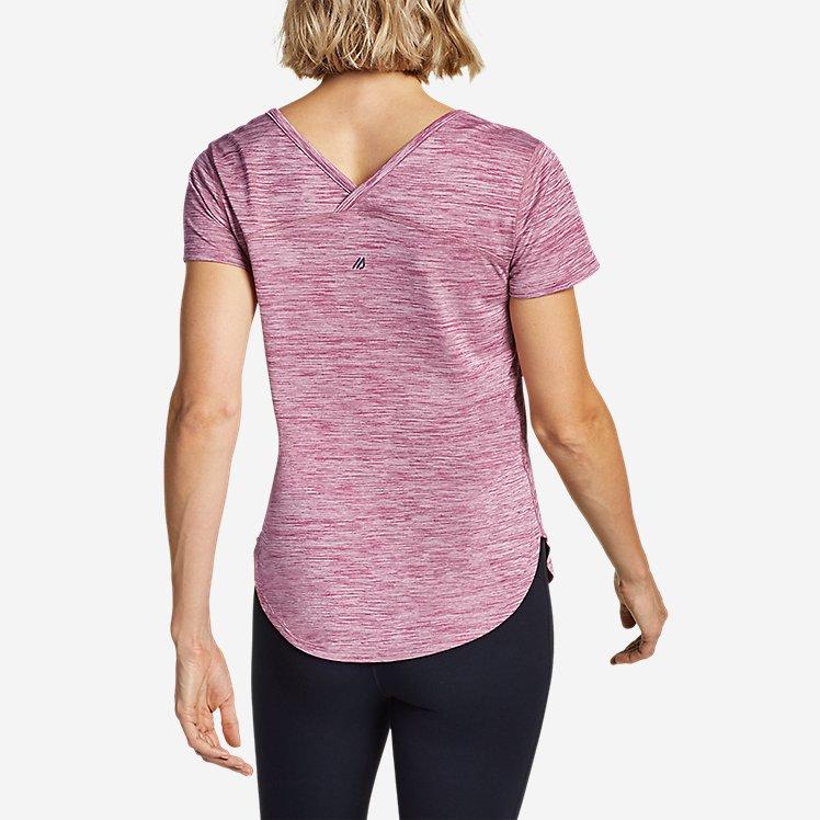 Women's Resolution Short-Sleeve Cross-Back T-Shirt large version