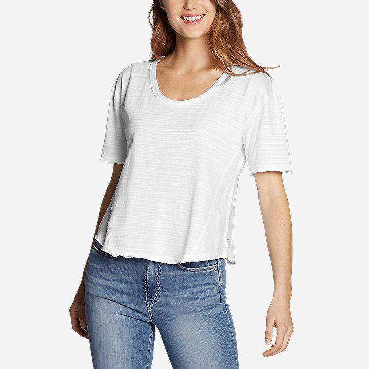 Women's Go-To U-Neck T-Shirt large version