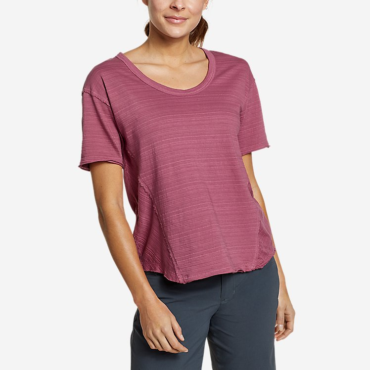 Women's Go-To U-Neck T-Shirt large version
