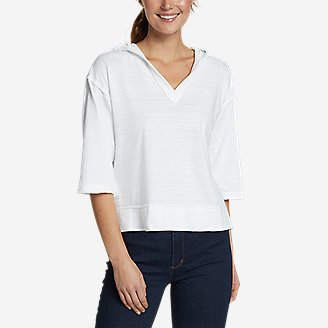 Thumbnail View 1 - Women's Go-To 3/4-Sleeve Hoodie