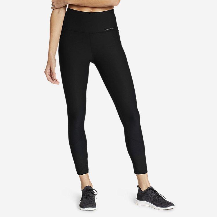 Women's Trail Tight High-Rise 7/8-Length Mesh Leggings large version
