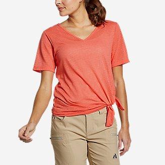 Thumbnail View 1 - Women's Day Hiker Burnout Asymmetrical T-Shirt