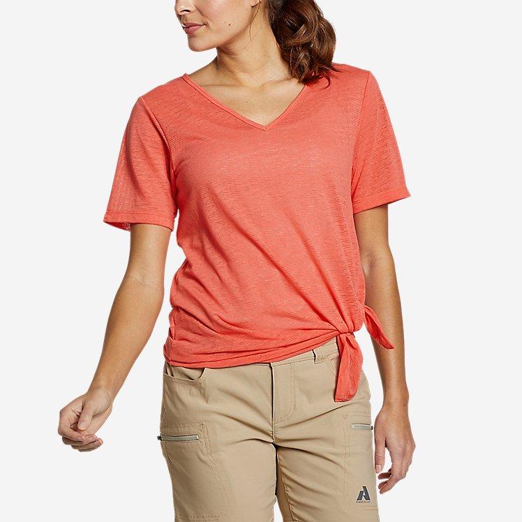 Women's Day Hiker Burnout Asymmetrical T-Shirt large version