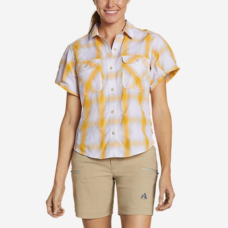 Women's Mountain Short-Sleeve Camp Shirt large version