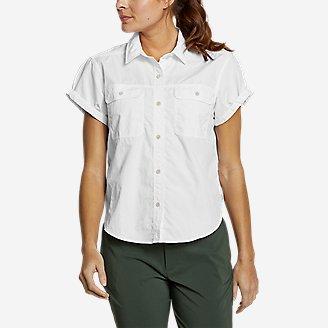 Thumbnail View 1 - Women's Mountain Ripstop Short-Sleeve Camp Shirt