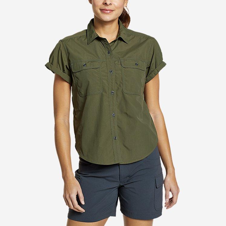 Women's Mountain Ripstop Short-Sleeve Camp Shirt large version