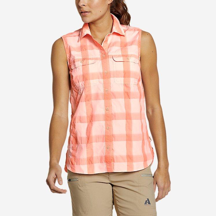 Women's Mountain Sleeveless Shirt large version