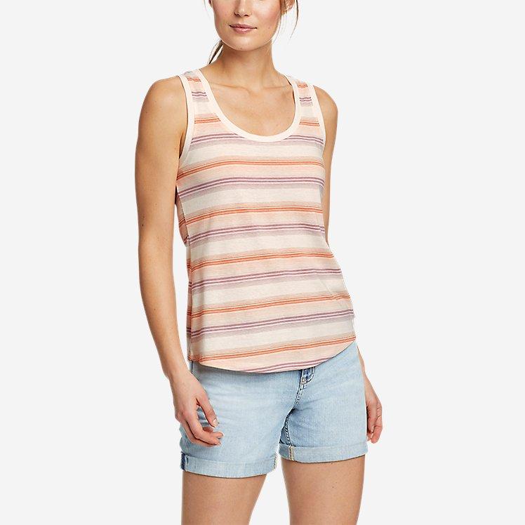 Women's Myriad Tank Top - Stripe large version