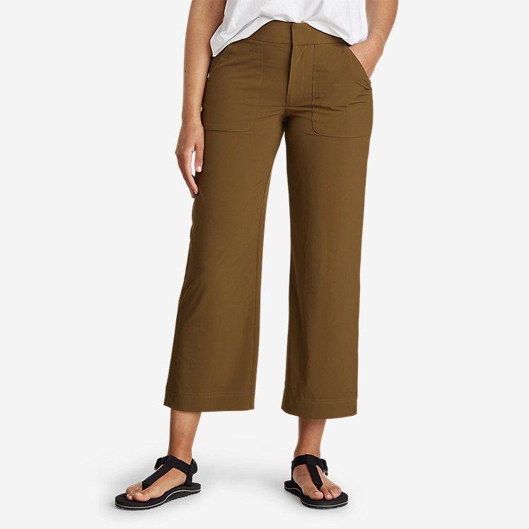 Women's Departure Wide-Leg Utility Crop Pants large version