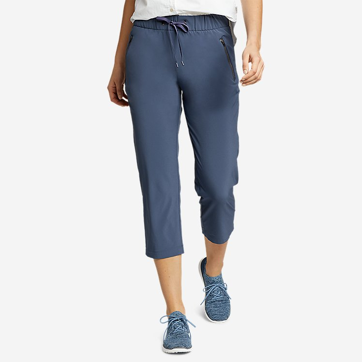Women's Departure Pull-On Crop Pants large version
