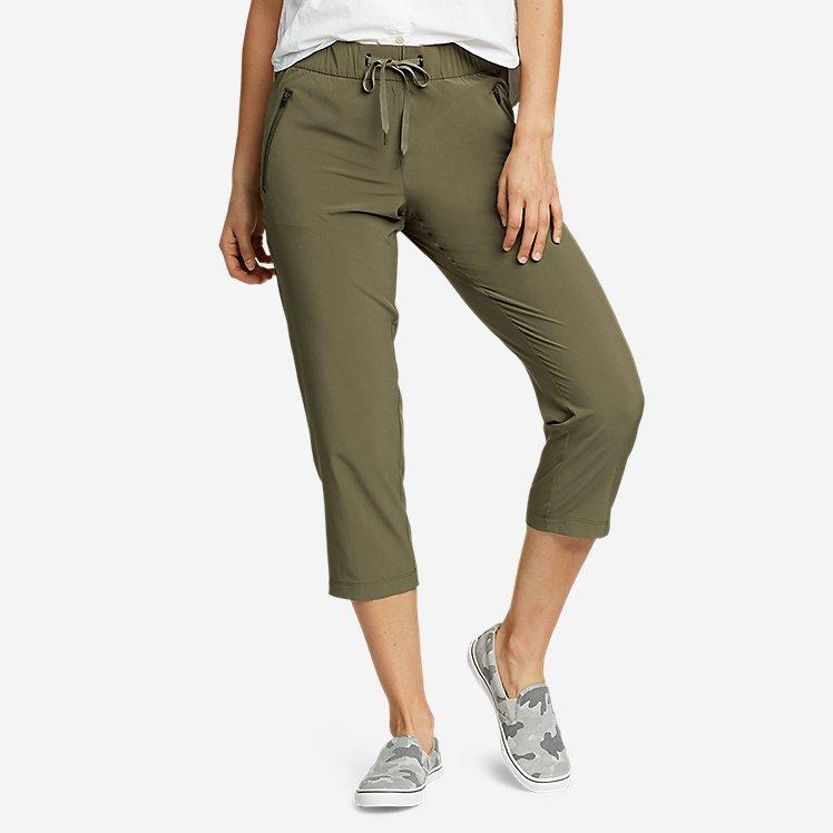 Women's Departure Pull-On Crop Pants large version