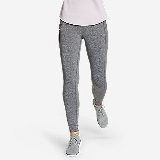 Thumbnail View 1 - Women's Crossover Winter Trail Adventure High-Rise Leggings