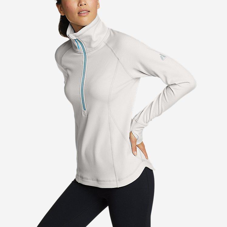 Women's High Route Grid Fleece 1/2-Zip large version