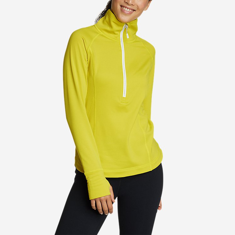 Women's High Route Grid Fleece 1/2-Zip large version