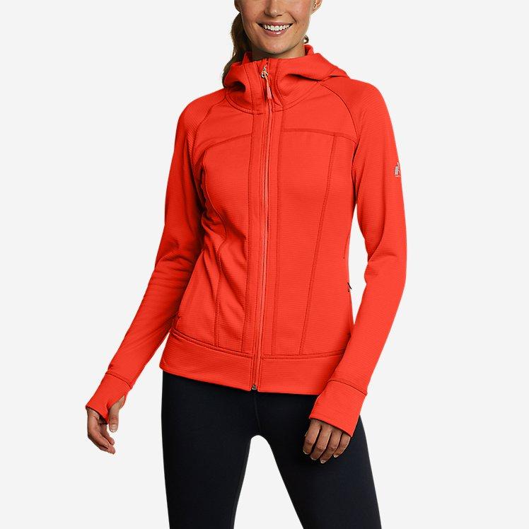 Women's High Route Grid Fleece Full-Zip Jacket large version