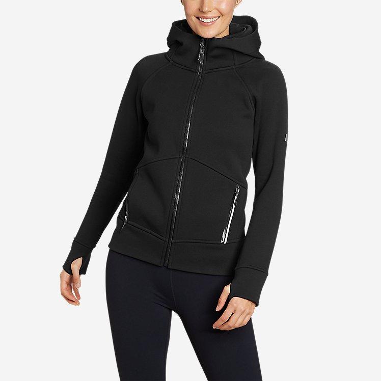 Women's Outpace Storm Fleece Full-Zip Hoodie large version