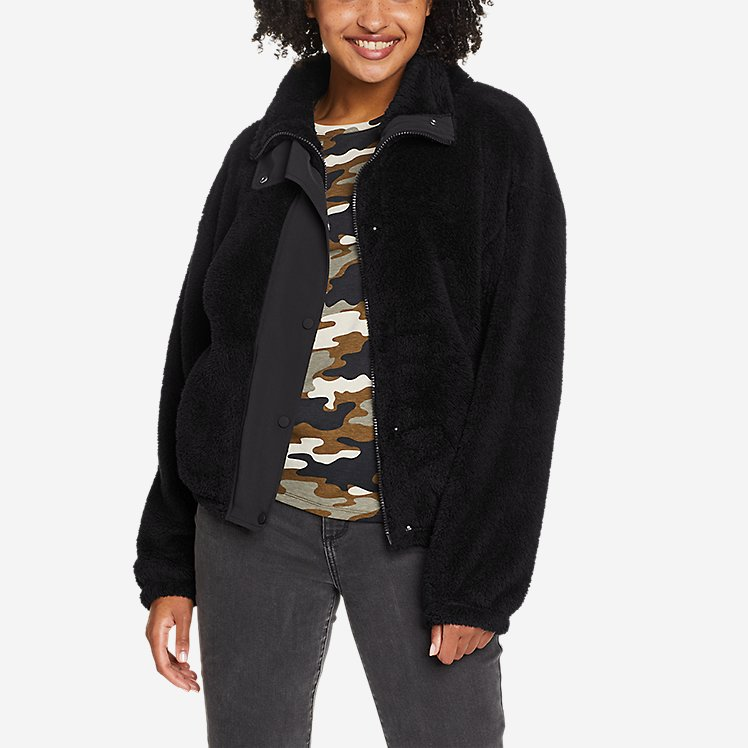 Women's Quest Plush Snap-Front Jacket large version