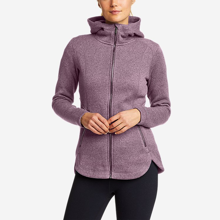 Women's Sunray Sweater Fleece Full-Zip Jacket large version