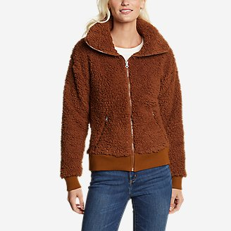 Thumbnail View 1 - Women's Fireside Plush Full-Zip Jacket