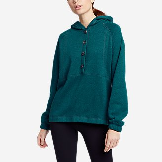 Thumbnail View 1 - Women's Sunray Sweater Fleece Hoodie