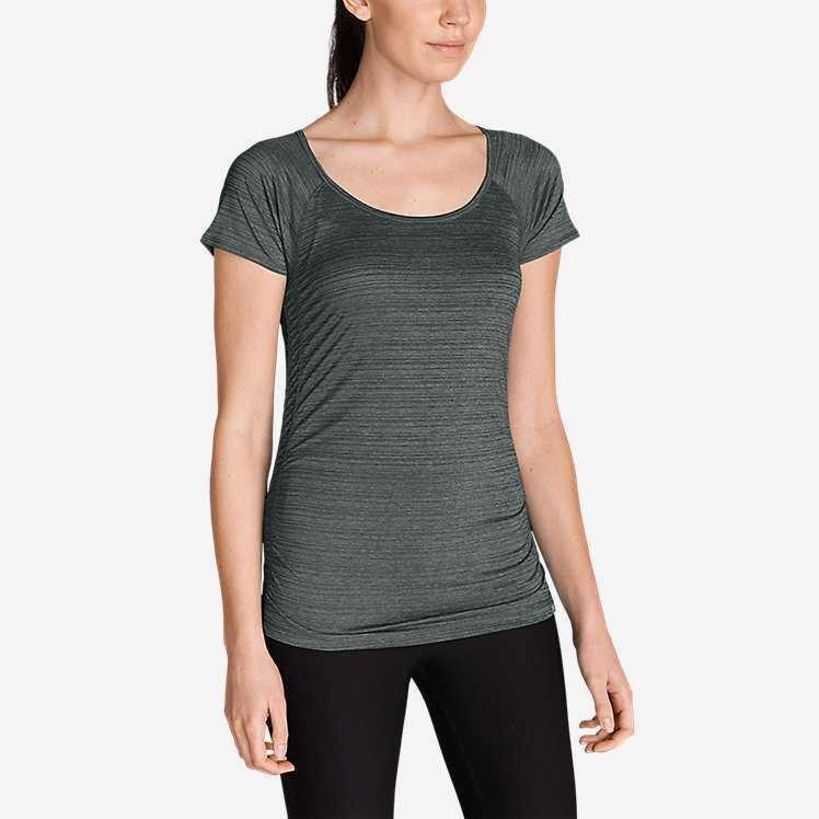 Women's Infinity Ruched T-Shirt large version