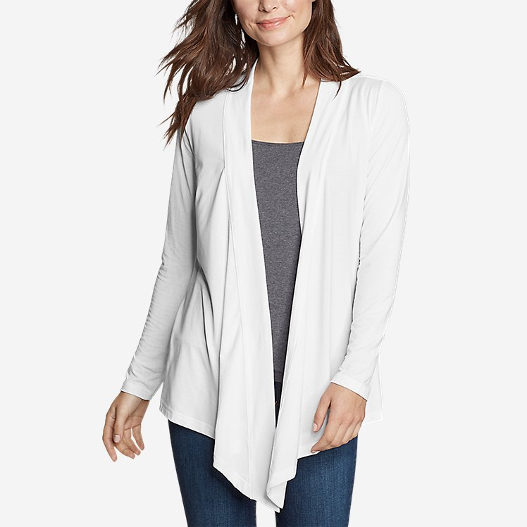 Women's Daisy 2.0 Long-Sleeve Wrap - Solid large version