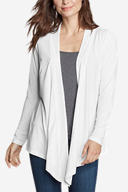 Women's Daisy II Long-Sleeve Wrap - Solid