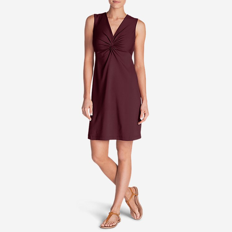 Women's Aster Tie The Knot Dress - Solid large version