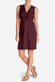 Women's Aster Tie The Knot Dress - Solid