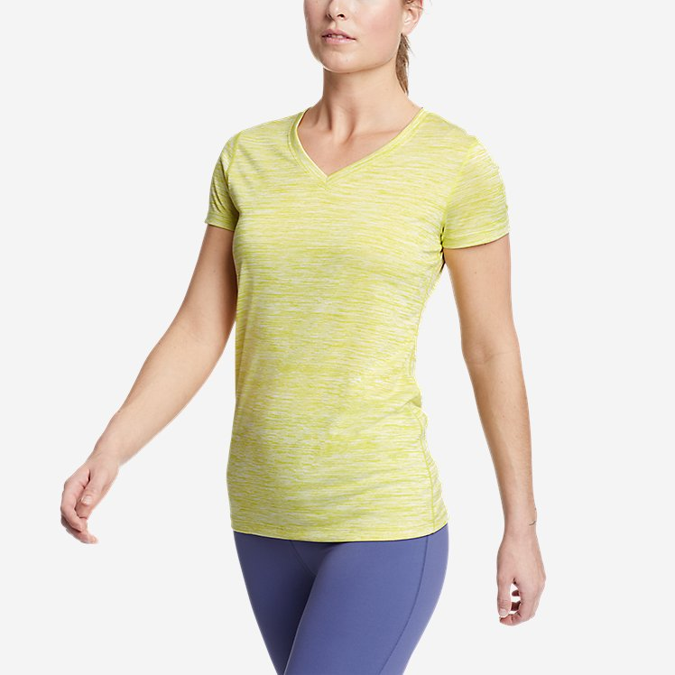 Women's Resolution V-Neck T-Shirt large version