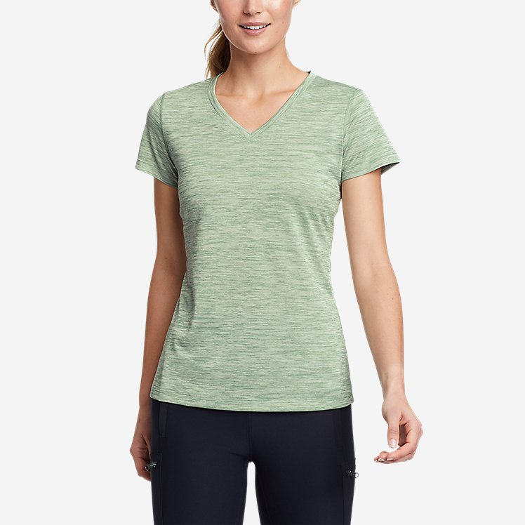 Women's Resolution V-Neck T-Shirt large version