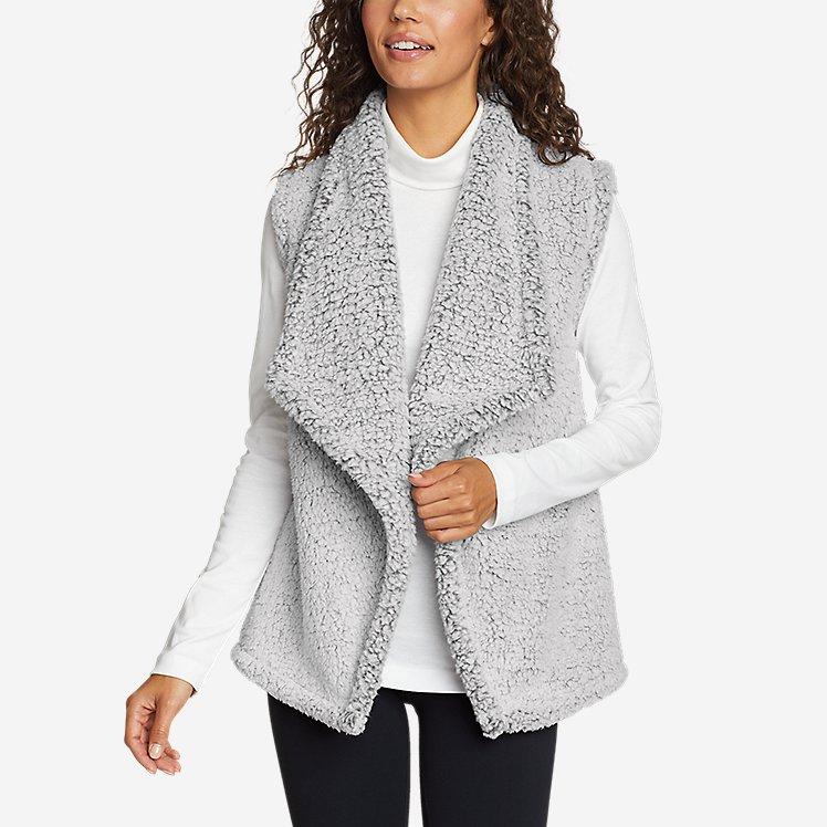 Women's Fireside Plush Vest large version