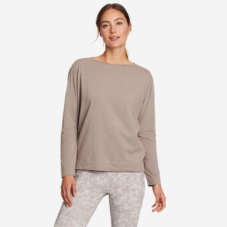 Women's Tempo Light Long-Sleeve Boat-Neck T-Shirt large version