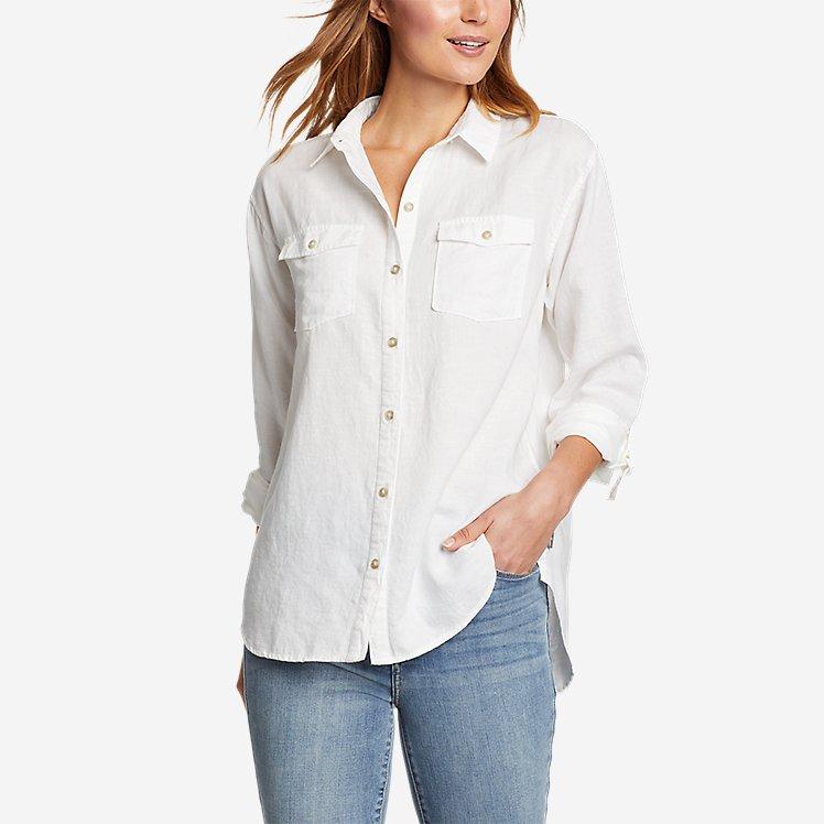 Women's Beach Light Linen Tunic large version