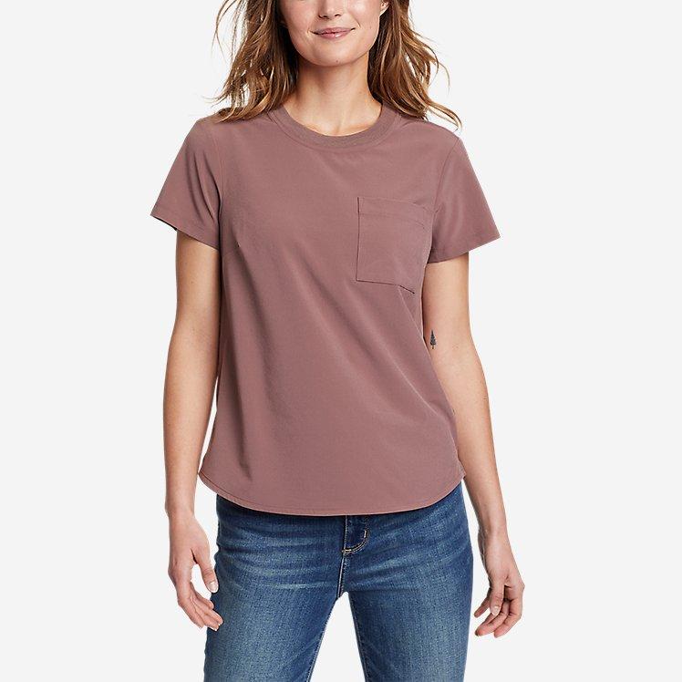 Women's Departure Short-Sleeve Pocket T-Shirt large version