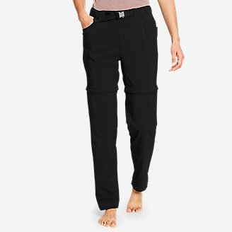 Thumbnail View 1 - Women's ClimaTrail Zip-Off Pants - Color Block