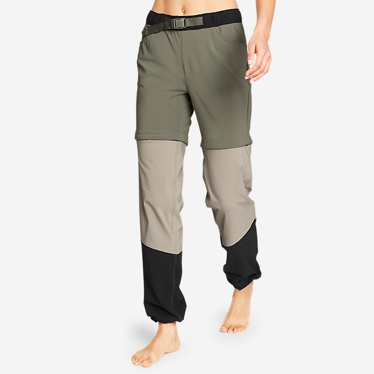 Women's ClimaTrail Zip-Off Pants - Color Block large version