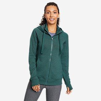 Thumbnail View 1 - Women's Motion Cozy Camp Full-Zip Sweatshirt