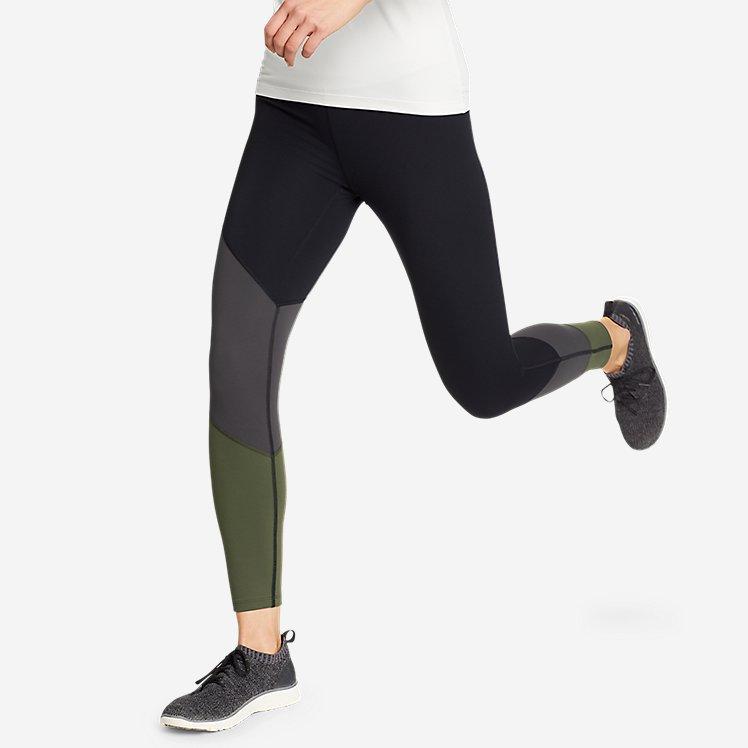 Women's Movement Lux High-Rise 7/8-Length Leggings - Color-Block large version