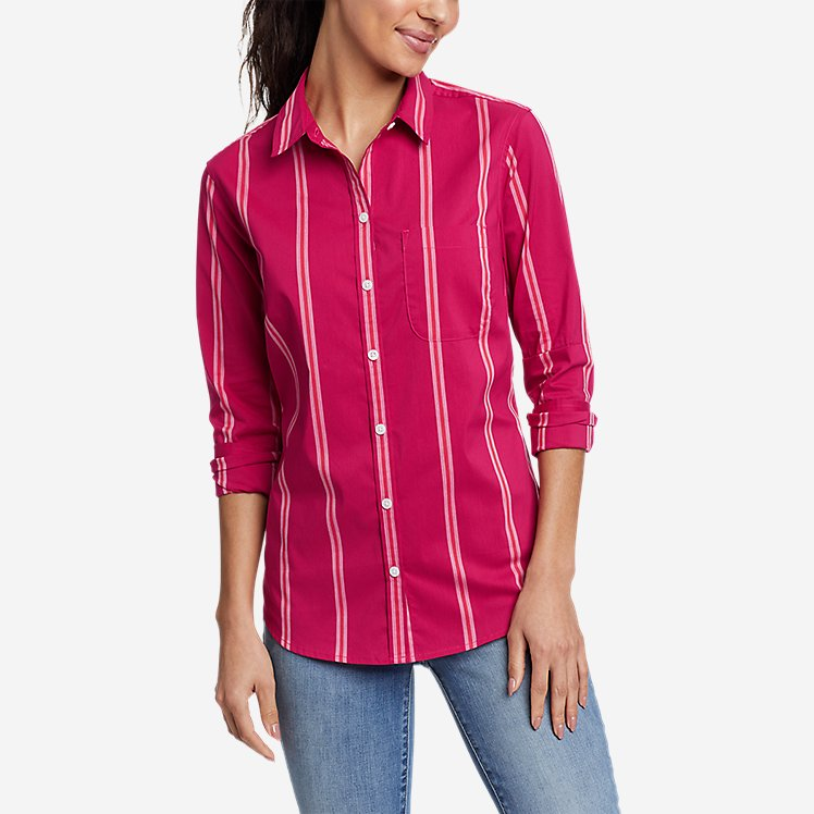 Women's Girl On The Go™ Long-Sleeve Shirt - Classic Fit large version