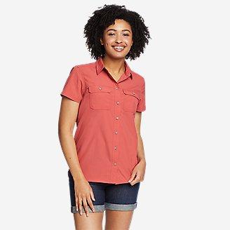 Thumbnail View 1 - Women's Mountain Ripstop Short-Sleeve Shirt