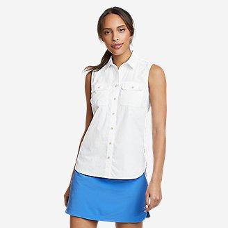 Thumbnail View 1 - Women's Mountain Ripstop Sleeveless Shirt
