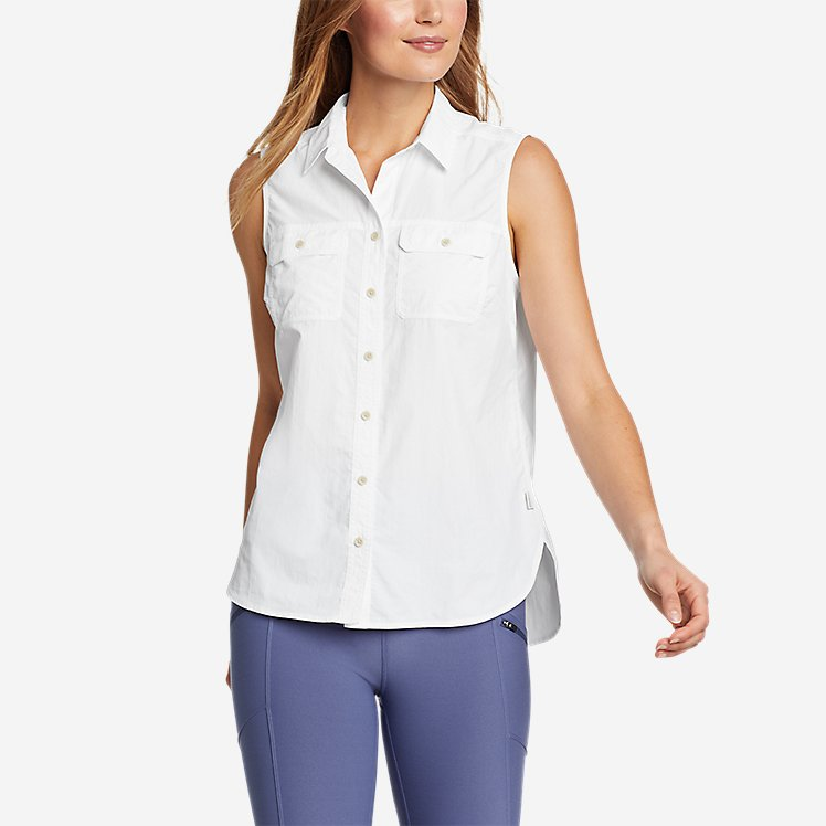 Women's Mountain Ripstop Sleeveless Shirt large version