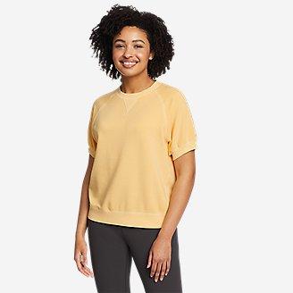 Thumbnail View 1 - Women's Motion Short-Sleeve Sweatshirt